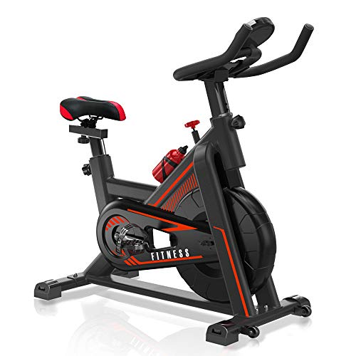 VIEWALL Indoor Exercise Bikes Stationary – Belt Drive Cycling Bike with Adjustable Resistance, Comfortable Seat Cushion…