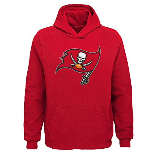 NFL Tampa Bay Buccaneers Toddler Primary Logo Sueded Classic Hoodie Red, 4T]()