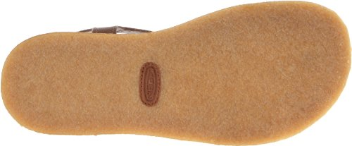 Keen - Sandalias de vestir de cuero para mujer marrón Shitake