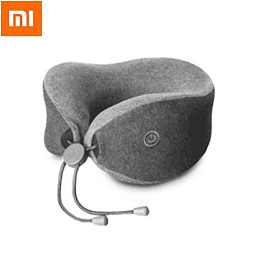TINIX Almohadas de Viaje – Xiaomi multifunción Suave y cómodo en Forma de U Masaje Cuello Almohada Doble Interior Ropa de...