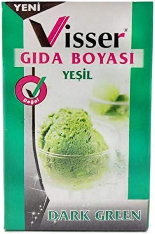 Visser Toz Gıda Boyası 9 Gram - Turuncu: Amazon.com.tr