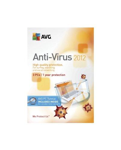 AVG Technologies AVG Anti-Virus + PC Tuneup 3user 2012 [Old Version]