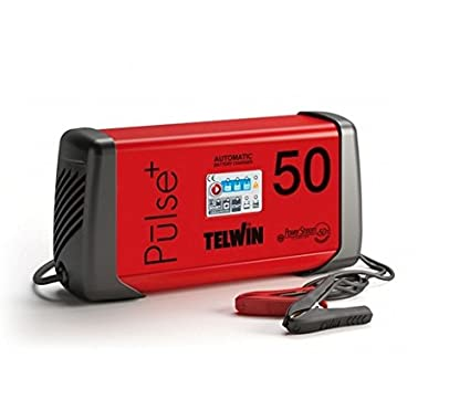 Telwin TE-807588 Cargador de Bateria, 600 W, 230 V, Rojo y ...