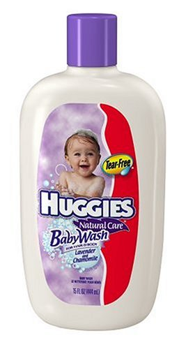 Huggies Baby Wash for Hair and Body, Lavender & Chamomile, 15 fl oz (444 ml)