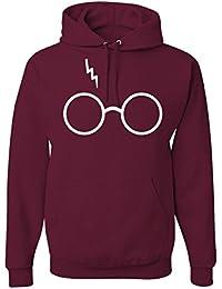 Wizard Glasses Scar Unisex Hooded Sweatshirt Fashion Hoodie