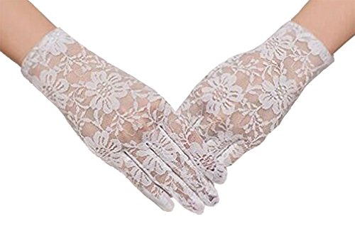 vintage white gloves - 6