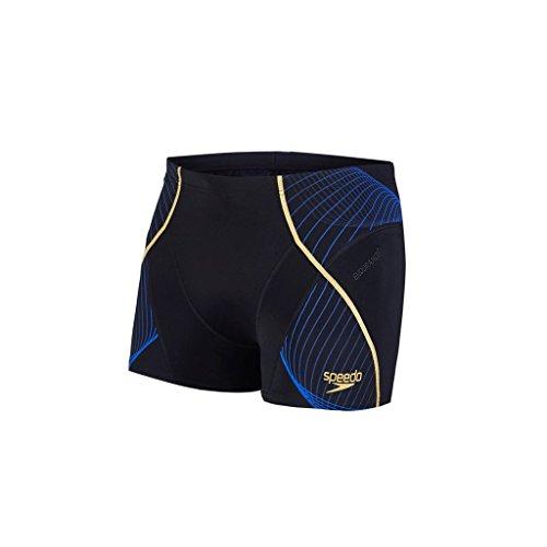 Speedo Fit Pinnacle Short de Bain Homme, Noir, FR : 32 (Taille Fabricant : 32)