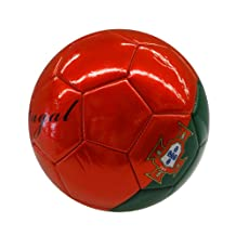 Portugal Red Green Country Flag FIFA World Cup Soccer Ball Size 5.. New