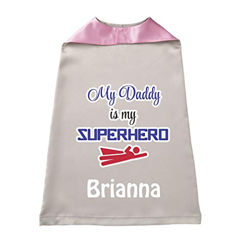 Baby Kids Personalized Superhero Cape My Daddy is