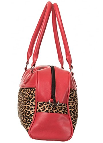Banned Apparel, Borsa a mano donna rosso Red