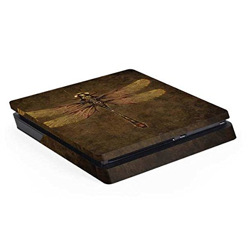 Fantasy & Dragons PS4 Slim (Console Only) Skin – Steampunk & Gear Dragonfly | Skinit Art Skin