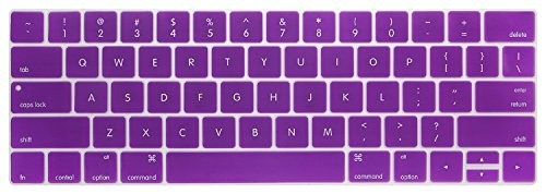 """KECC Laptop Case for MacBook Pro 13"""" (2020) w/Keyboard Cover Plastic Hard Shell A2338 M1 A2289 A2251 Touch Bar + Screen Protector 3 in 1 Bundle (Purple Flower)"""