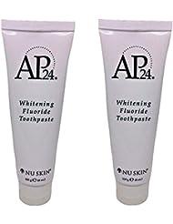 Nu Skin lqbGyz Ap 24 Whitening Fluoride Toothpaste, 4 oz, 2 Pack