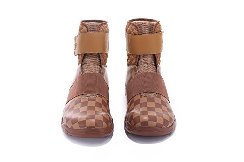 Shoes Halifax Mens Travel Microfiber Fasion on UIN Slip Brown Comfort Casua zqd4ax5nFw