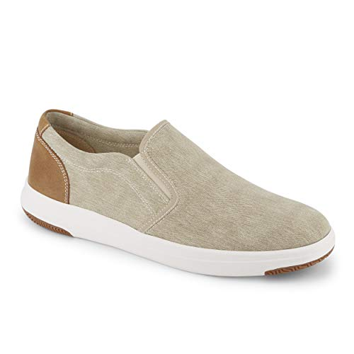 Dockers 9033682 Men's Nobel Casual Slip-On Sneaker Waterproof Shoe, Sand - 12 M US