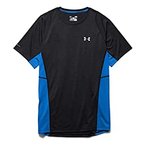 Under Armour Charged Wool Running T-Shirt - Small - Black