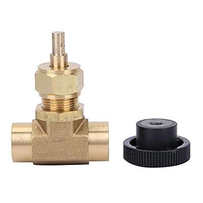 "Needle Control Valve Brass Instrument American Style Industrial High Pressure Needle Valve 1/4"" NPT Female Thread 3000PSI by FTVOGUE"