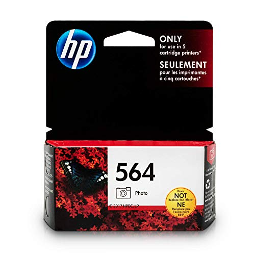 HP 564 Photo Ink Cartridge (CB317WN) for HP Photosmart B8550 D5445 D5460 D7560 7510 7515 7520 7525 C6340 C6350 C6380 C510a C309g C310a HP Photosmart Premium Fax e-All-in-One Printer ()