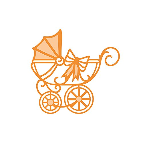 Tonic Studios 1274E Baby Rococo Die   Regal Carriage