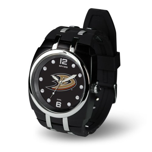 NHL Anaheim Ducks Crusher Watch, Black - Anaheim Ducks Merchandise