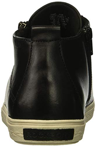 Leather Cobb Top High Women's Sneaker Black Hill Willa x8UH7a