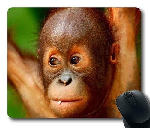 Baby Orangutan ape Monkey animalsCustomized Mouse padRectangle Mouse pad Gaming Mouse mat