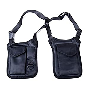 Anti-Theft Hidden Underarm Strap Wallet Holster Bag Leisure Nylon Double Shoulder Pocket Sport Vest Outdoors