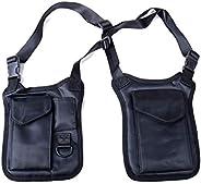 Multifunctional Concealed Tactical Storage Gun Bag Holster Men's Left Right Nylon Shoulder Bag Anti-theft