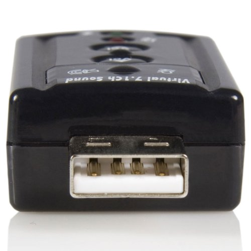 StarTech.com Virtual 7.1 USB Stereo Audio Adapter External Sound Card ICUSBAUDIO7 by StarTech (Image #1)