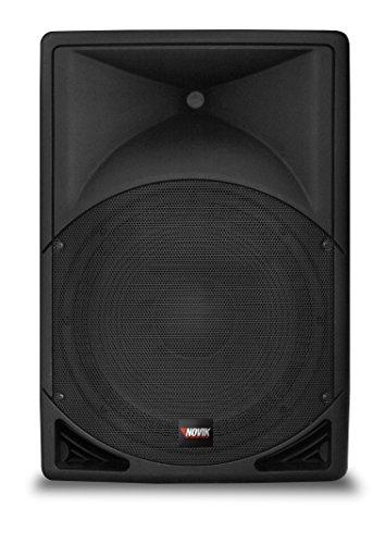 "NOVIK NEO EVO 100A 2 way Powered Speaker System, Bluethooth, Peak power 400W, Woofer: 8"", 2 channel mixer"