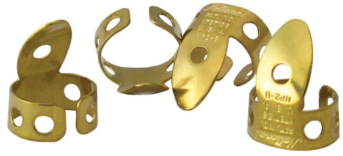 (National NP-2B-4PK Finger Picks - Brass - 4 Pack )