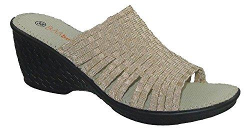 Women's Bernie Mev, KENT Sandals Light Gold 39