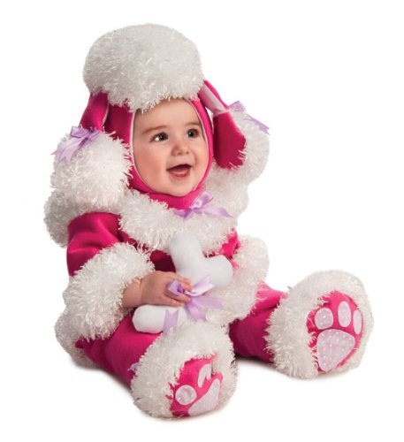 Rubie's Costume Noah's Ark Poodle Romper Costume, Pink, 12-18 Months (Toddler Poodles Of Fun Costume)