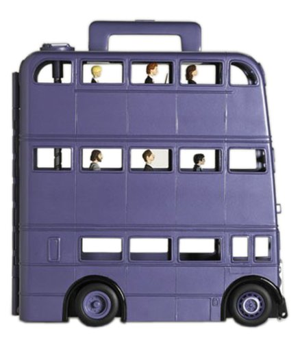 Harry Potter Knight Bus Carrying Case Exclusive Harry Potter Figure