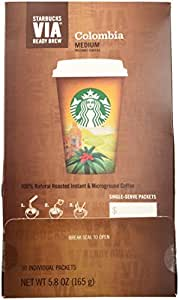 Starbucks VIA® Ready Brew Colombia Coffee (50 count)