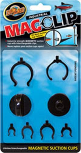 - Zoo Med MagClip Magnetic Suction Cups