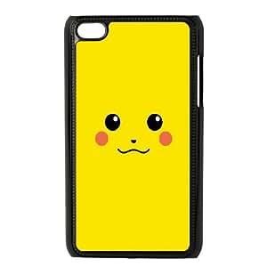 Pikachu Pokemon Minimalistic75 iPod Touch 4 Case Black Fantistics gift A_086956