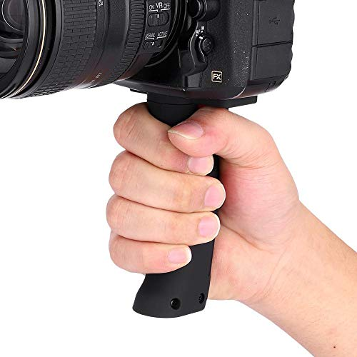 Taidda Camera Grip, Camera Pistol Grip Anti-Slip Portable Plastic 1/4'' Screw Extension Handheld Pistol Handle Grip Camera Accessory for Digital Mirrorless Cameras Sports Cameras