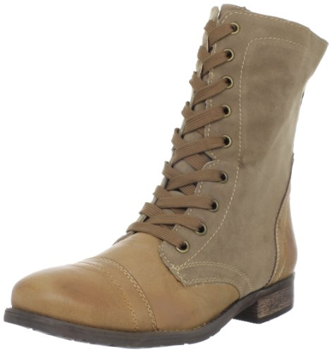 Shoes Wanted Tan Bootie Forge Women's 4OwOqC