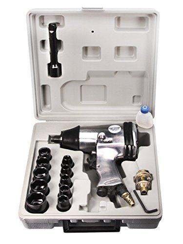 340NM Druckluft Schlagschrauber 1/2 Zoll mit 10 Nüssen Druckluftschrauber