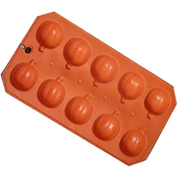 Silicone Pumpkin Ice Cube Tray