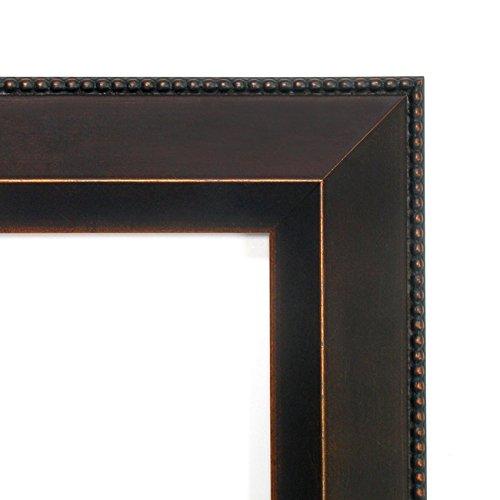 Wall Mirror Large, Signore Bronze Wood: Outer Size 32 x 26'' by Amanti Art (Image #2)