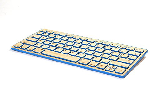 Impecca Bamboo Bluetooth Keyboard KBB78BTB