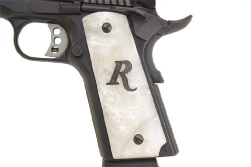 NEW RESIN PEARL SERAPH GRIPS SPRINGFIELD STYLE FOR COLT1911,CLONE,KIMBER FULL SZ