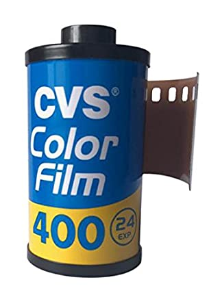 10 Rolls CVS 400 35mm Film Color 135-24 BULK Camera Lomo