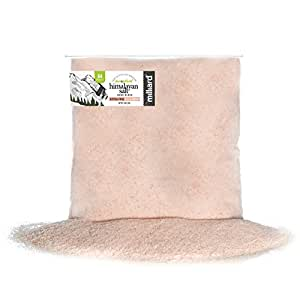 Milliard Himalayan Salt Extra-Fine Crystals – 5Lb. Bag – Pure and Natural with Minerals and Nutrients for Health Benefits (0.2-0.8 mm)