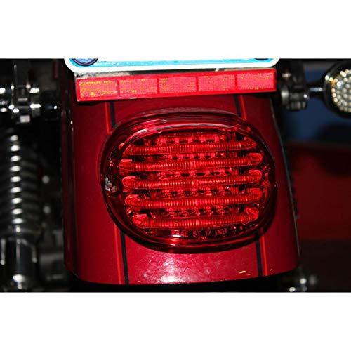 (Custom Dynamics ProBEAM Low Profile LED Taillight w/o Window, Red PB-TL-LP-R)