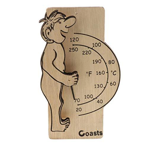 B Blesiya Wooden Digital Thermometer Sauna Accessories for Sauna Room Wall Mounted by B Blesiya (Image #9)