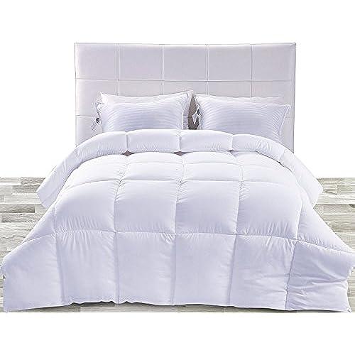 Fluffy White Comforter Amazoncom