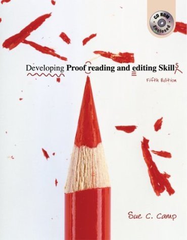 - Developing Proofreading and Editing Skills w/ Student CD-ROM Package